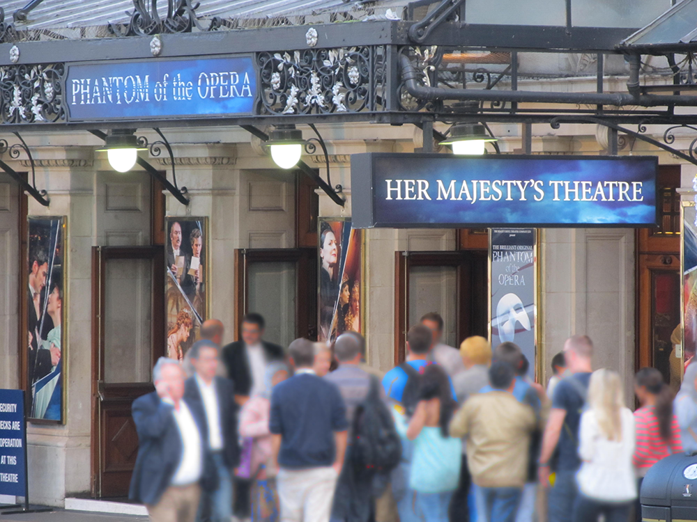 Her Majesty`s Theatre