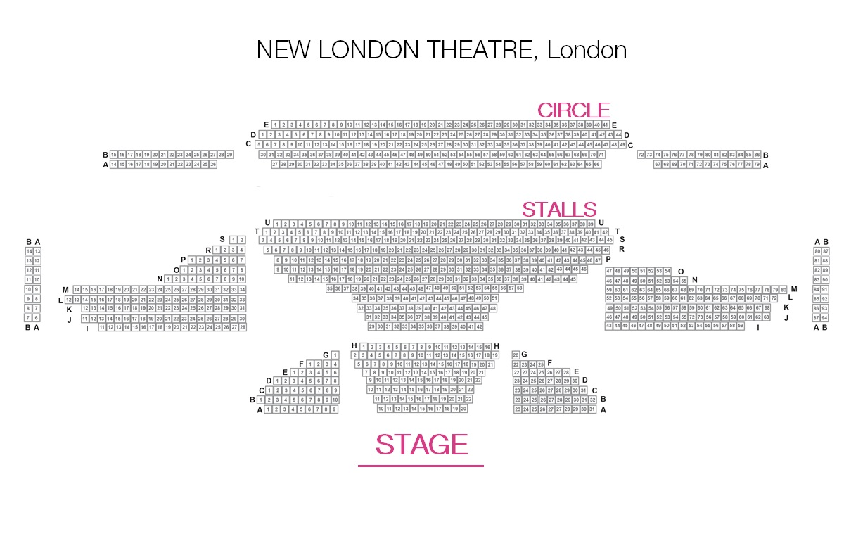 Gillian Lynne Theatre (f.d. New London)